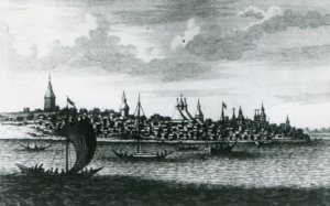 Самара 1703 г. Рисунок Корнелия де Бруина