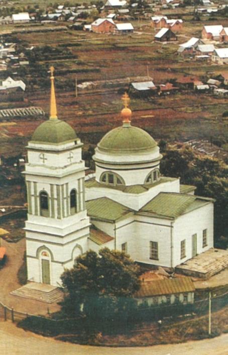 Вознесенская церковь в селе Кинель-Черкассы